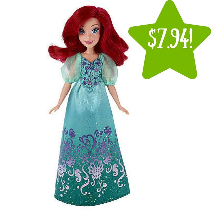 Kmart: Disney Princess Royal Shimmer Ariel Doll Only $7.94 (Reg. $13)