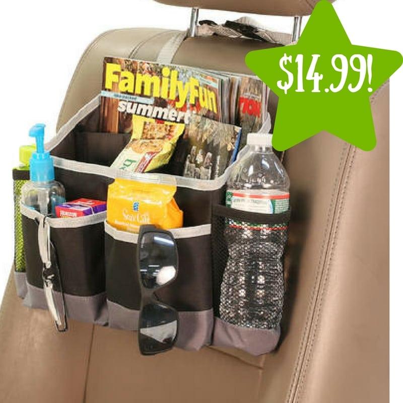 Sears: E-Z Travel Car Seat Multi-pocket Storage Bag Only $14.99 (Reg. $38)
