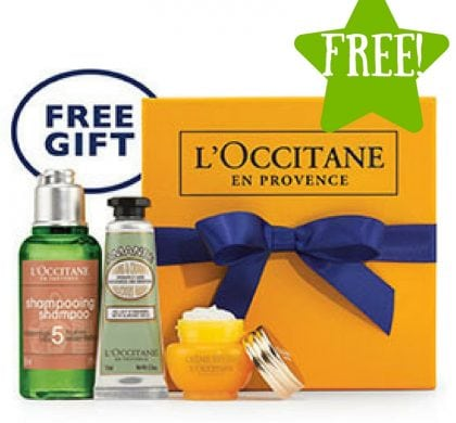 FREE 3pc L'Occitane Gift (In-Stores)