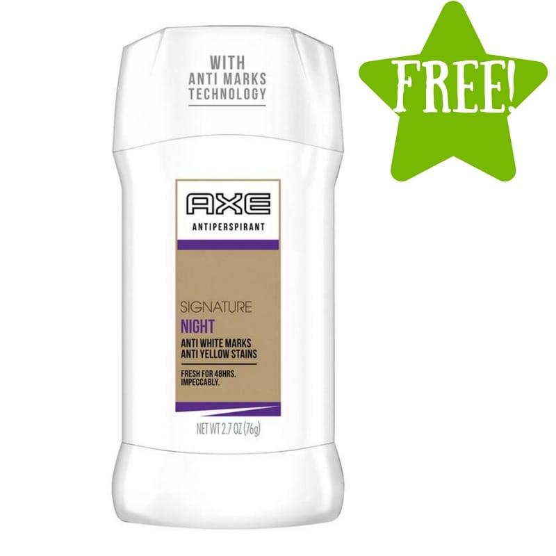 FREE Axe White Label Antiperspirant Stick Night Sample