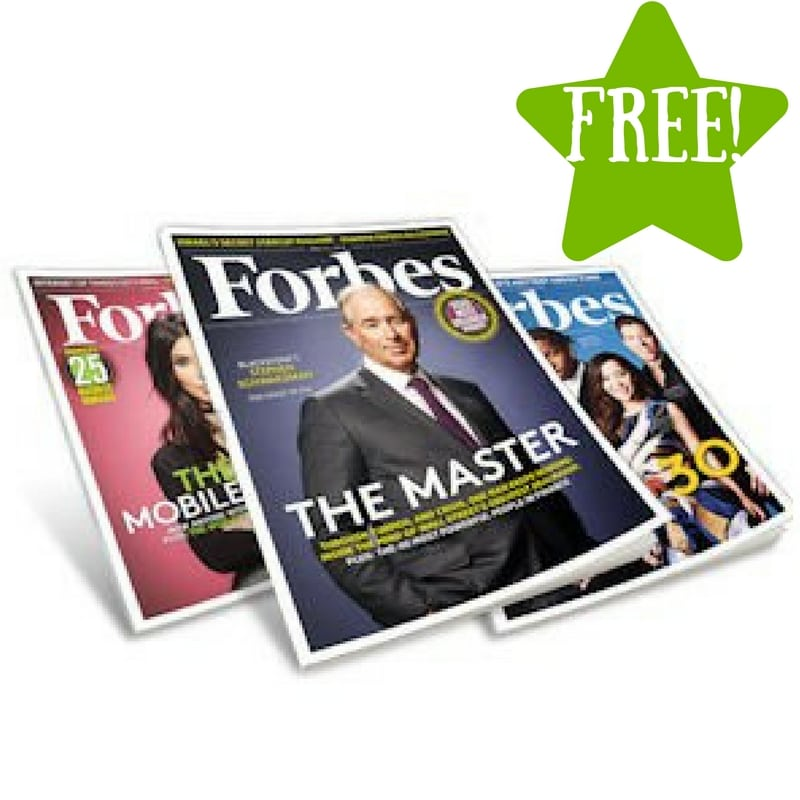 FREE Forbes Magazine Subscription