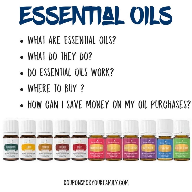 Using Essential Oils — What are they and how you can save on them!!