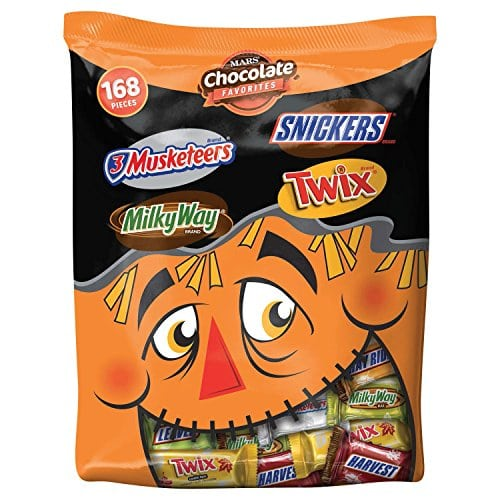 *HOT HALLOWEEN CANDY DEAL* MARS Minis Size Candy Bars Mix 45.8 oz Bag under $9