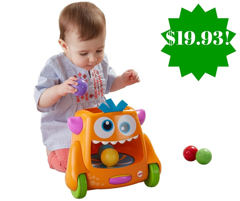 Amazon: Fisher-Price Zoom 'n Crawl Monster Toy Only $19.93 (Reg. $35)