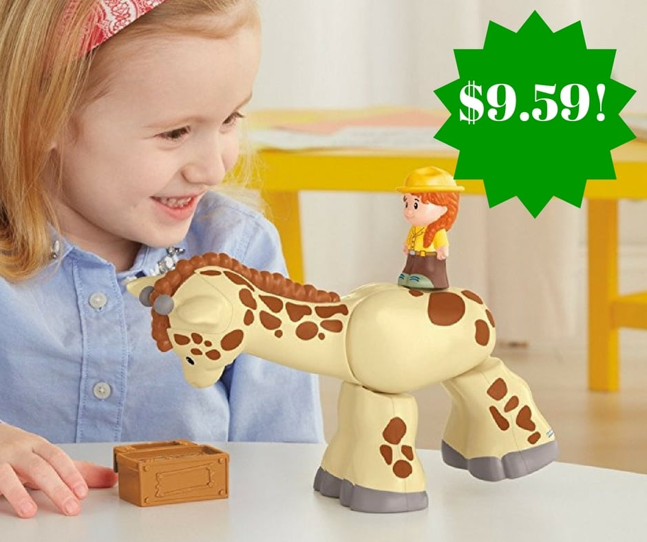 Amazon: Fisher-Price Little People Giraffe Only $9.59 (Reg. $15)
