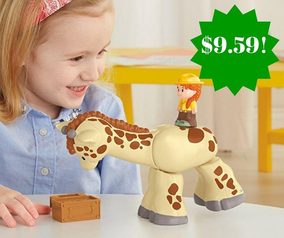 Amazon: Fisher-Price Little People Giraffe Only $9.59 (Reg. $15)