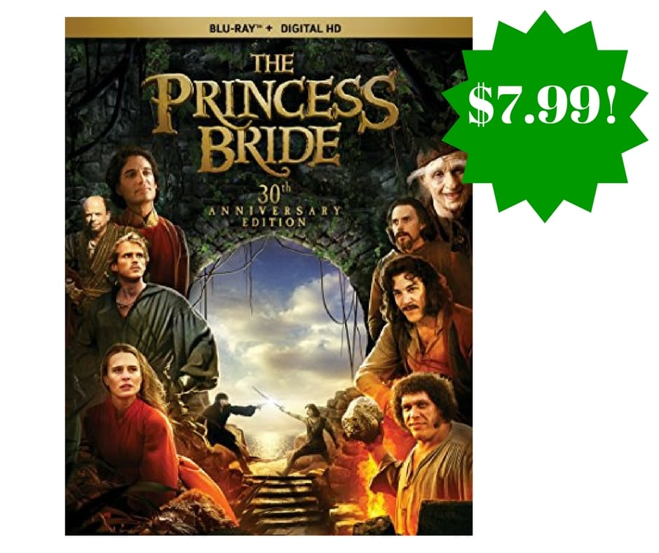 Amazon: The Princess Bride Anniversary Edition Blu-ray Only $7.99 (Reg. $20)