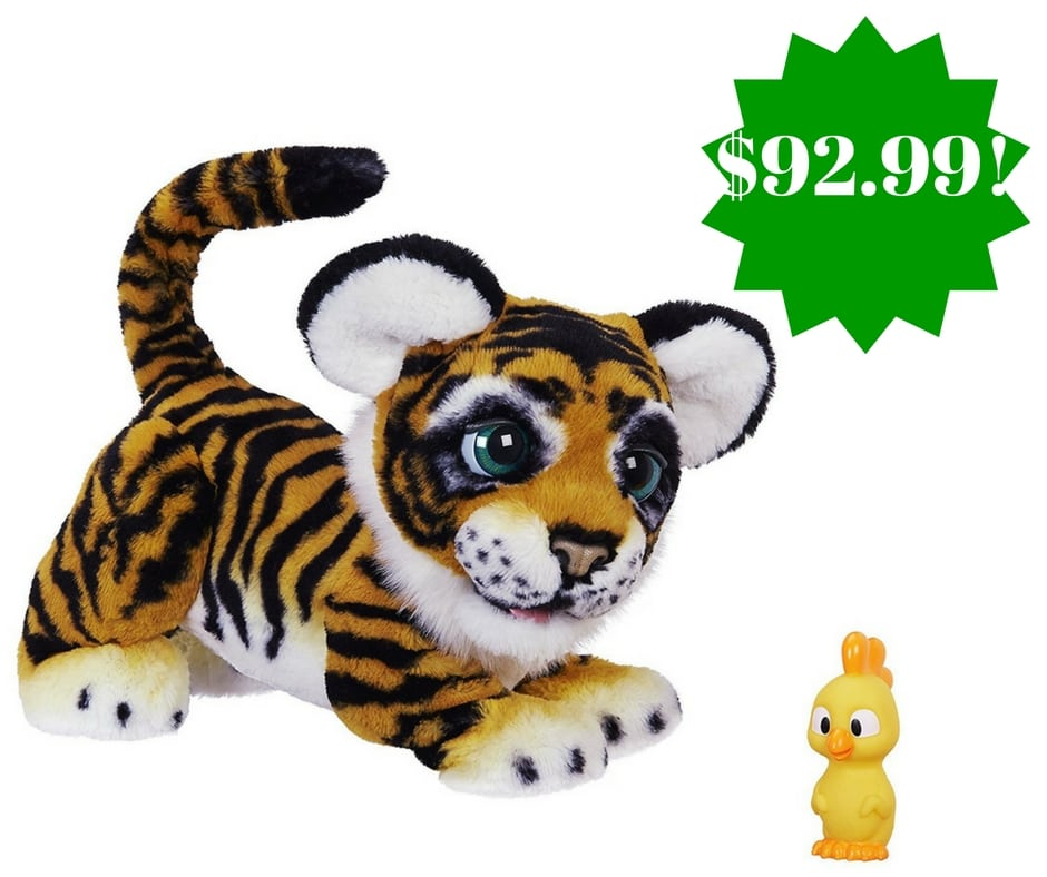 Amazon: FurReal Roarin' Tyler, the Playful Tiger Only $92.99 (Reg. $130)