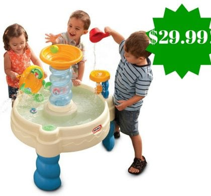 Amazon: Little Tikes Spiralin' Seas Waterpark Play Table Only $29.99 (Reg. $55)