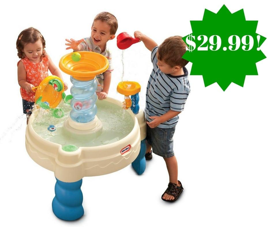 Amazon: Little Tikes Spiralin' Seas Waterpark Play Table Only $29.99 (Reg. $55)