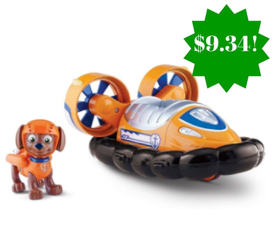 Amazon: Paw Patrol Nickelodeon Zuma's Hovercraft Only $9.34 (Reg. $25)