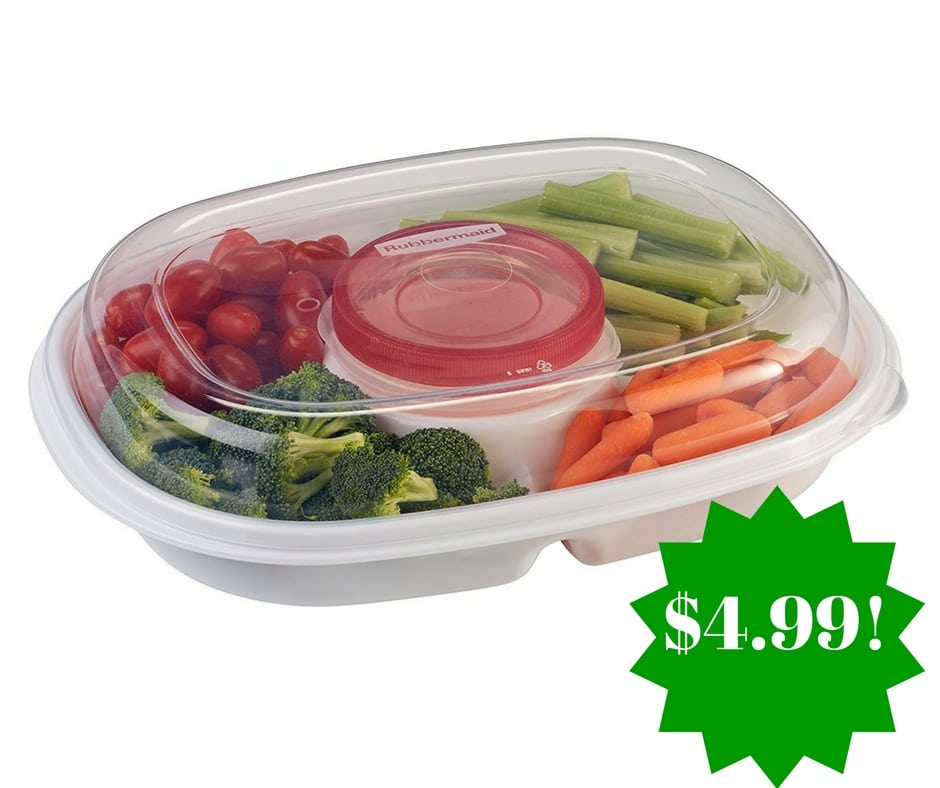 Amazon: Rubbermaid Party Platter Party Tray Only $4.99 (Reg. $24)