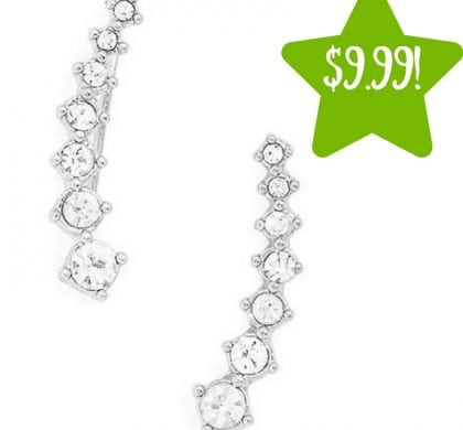 Sears: Alphabetdeal 7-Stone Diamond Earring Only $9.99 (Reg. $20)