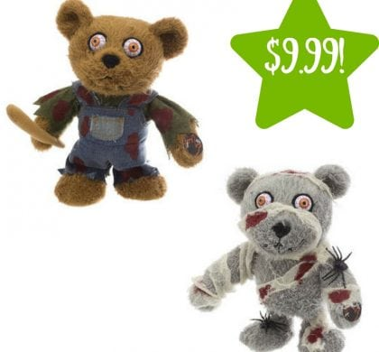 Kmart: 8.5″ Halloween Singing And Walking Teddy Only $9.99 (Reg. $20, Today Only)