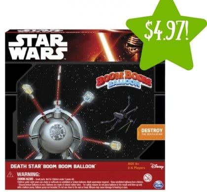 Walmart: Star Wars Death Star Boom Boom Balloon Game Only $4.97 (Reg. $20)