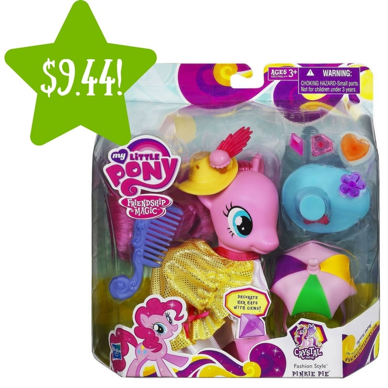 Target: My Little Pony Fashion Style Pinkie Pie Figure Only $9.44 (Reg. $19)