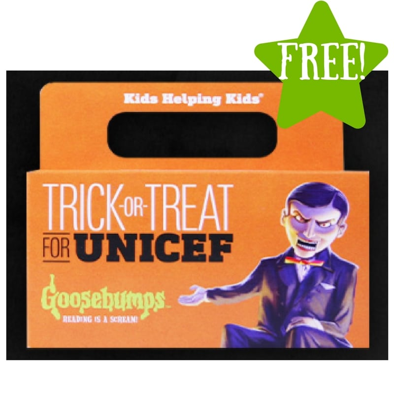 FREE 2017 Trick-or-Treat for Unicef Kit