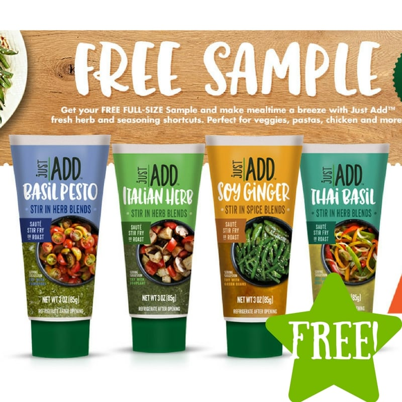 FREE Just Add Herb Blends Full Size Tube