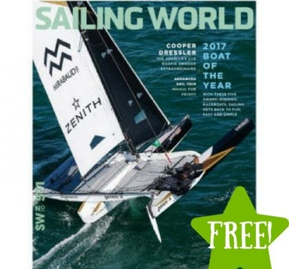 FREE Sailing World Magazine Subscription