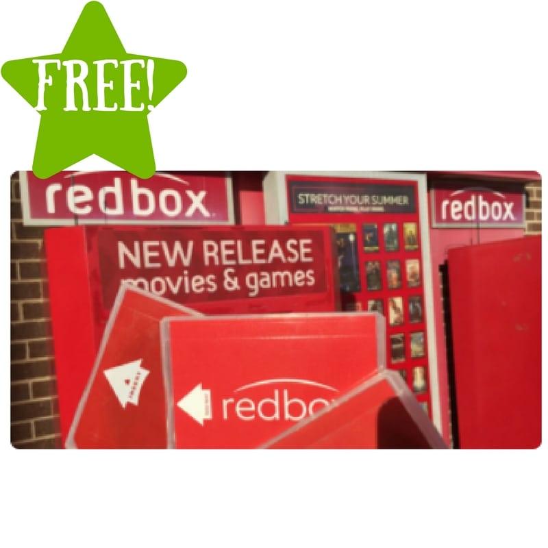 FREE Redbox DVD or Bu-ray Rental