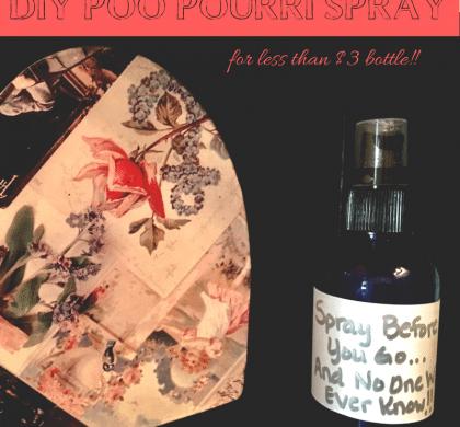 How to make Poo Pourri Spray for less than $3 bottle!!!