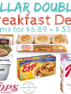 Dollar Doubler Breakfast Deal