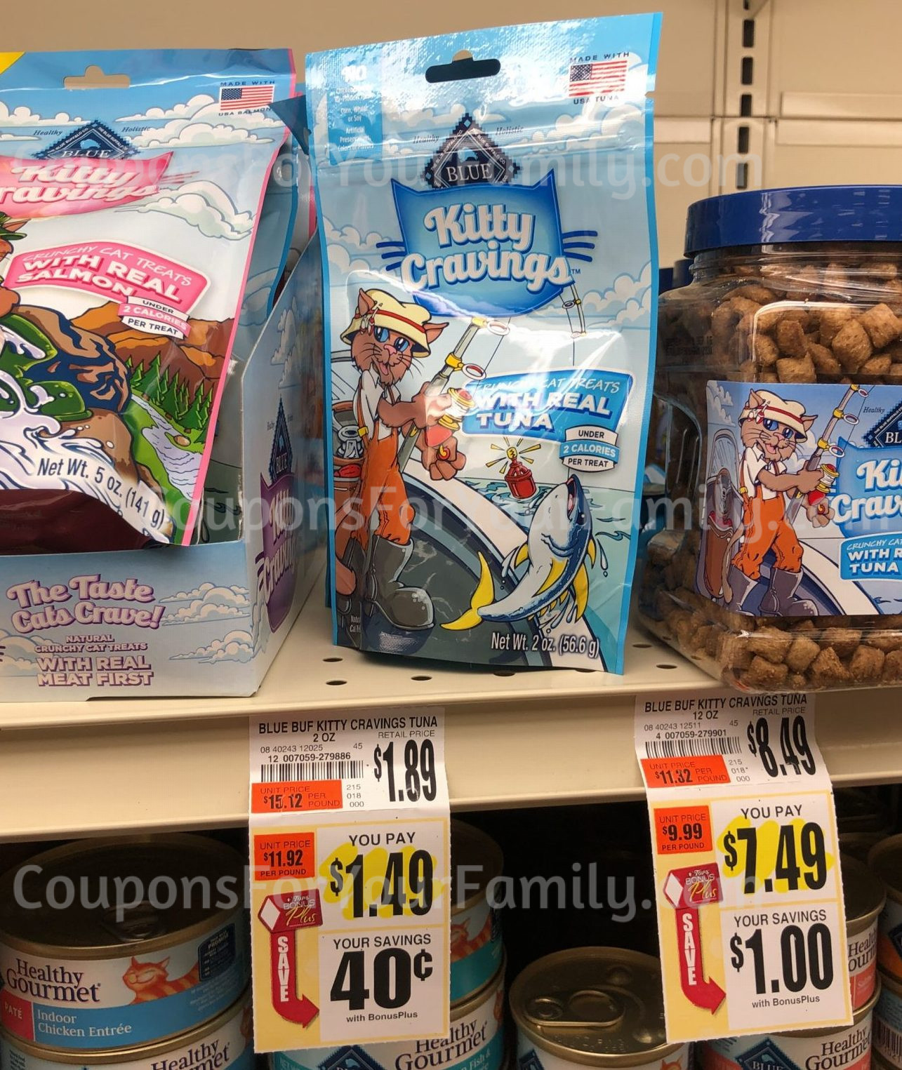 buy 1 blue buffalo litty cravings 2 oz unadvertised price 149 use 1001 blue cat treats printable coupon here less 1