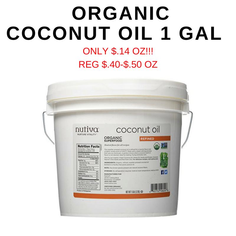 Nutiva Coconut Oil Gallon