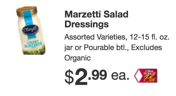 Tops Markets Marzetti