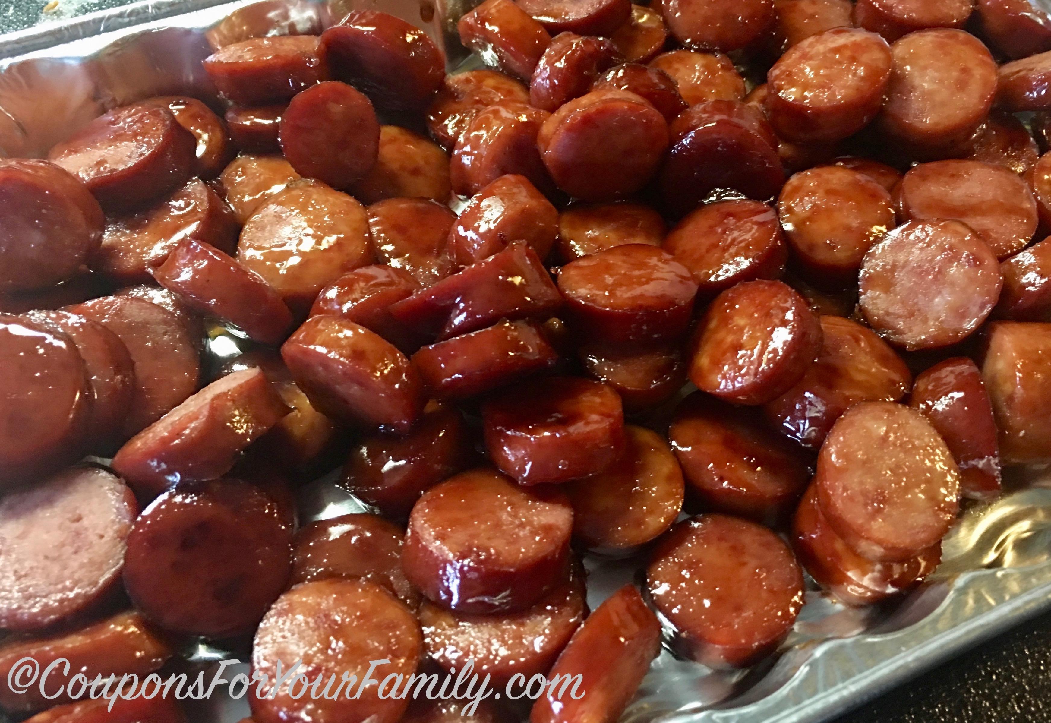 Easy smoked sausage recipe