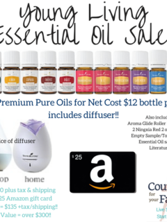 Essential Oil Sale