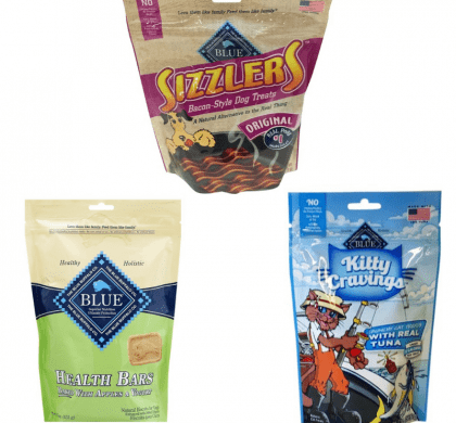 New Blue Buffalo Coupons= Kitty Cravings as low as $.49 & Dog Treats for $1.99