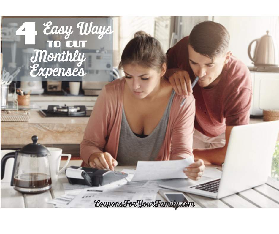 4 Easy Ways to Cut Your Monthly Expenses