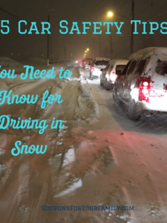 5 Car Safety Tips You Need to Know for Driving in Snow