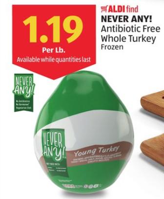 Aldi Antibiotic Free Turkey Price