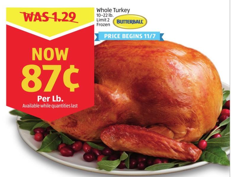 Aldi Turkey Price Butterball