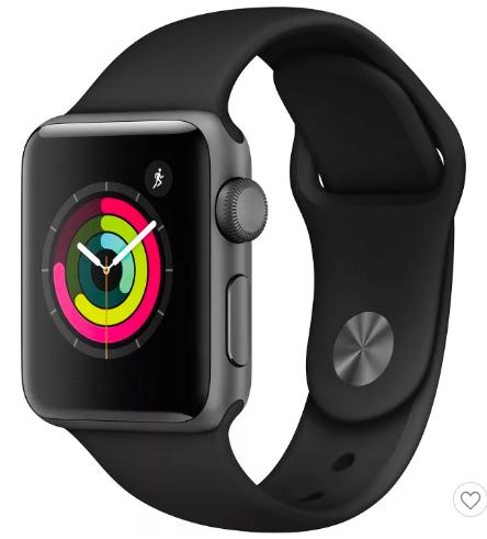 Apple Watch Series 3 GPS 38mm Aluminum Case