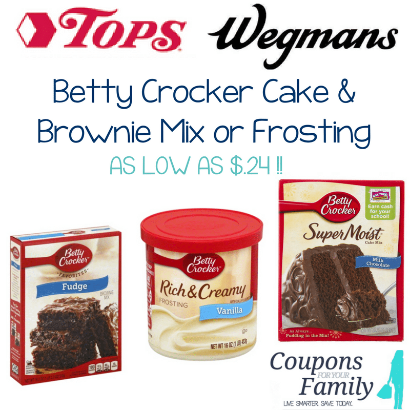 Betty crocker cake frosting coupons