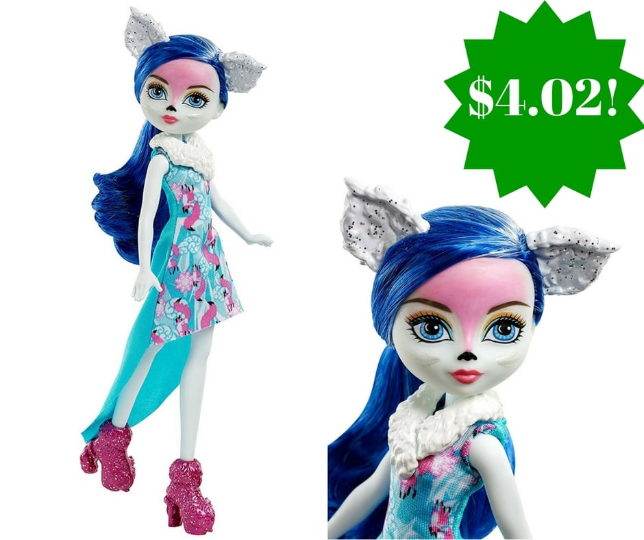 Amazon: Ever After High Epic Winter Pixie Fox Doll Only $4.02 (Reg. $10)