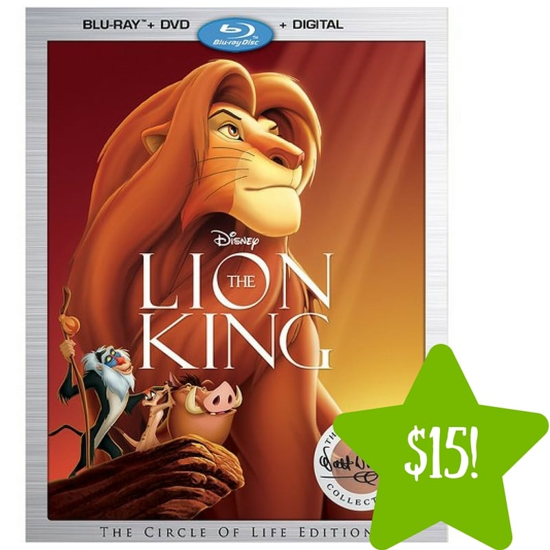 Target: The Lion King: The Walt Disney Signature Collection Only $15 (Reg. $25)