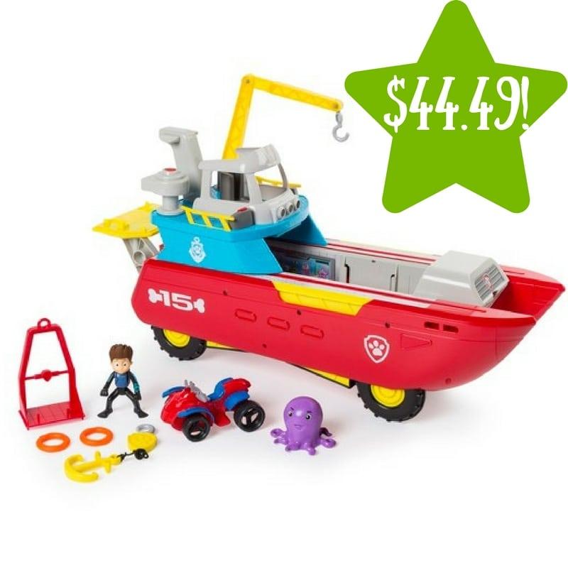 Target: Paw Patrol Sea Patrol Only $44.49 (Reg. $60)
