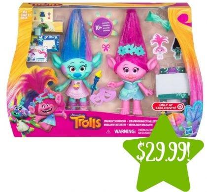Target: DreamWorks Trolls Sparklin' Scrapbook Only $29.99 (Reg. $40)