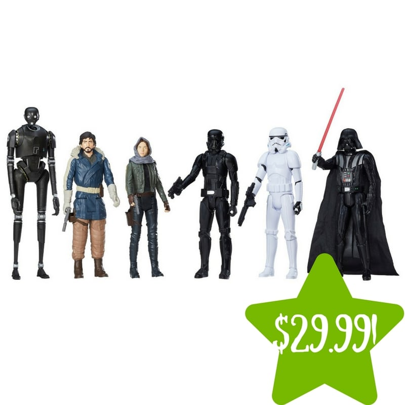 Target: Star Wars Rogue One Action Figure 12″ 6-Pack Only $29.99 (Reg. $50)