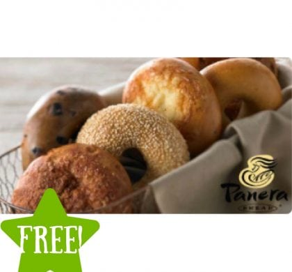 FREE Bagel Everyday in October for Panera Members