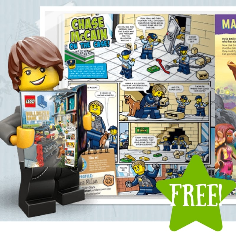 FREE LEGO Life Magazine Subscription