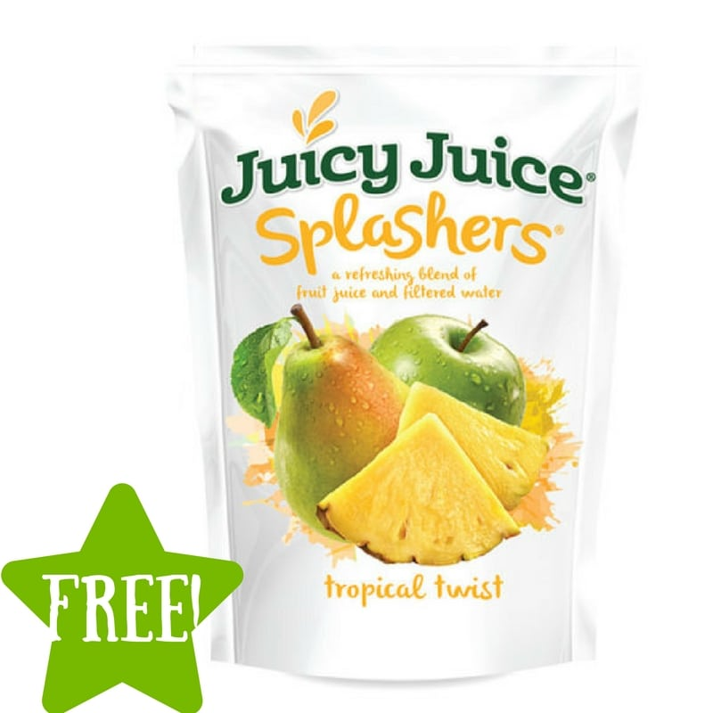 FREE Juicy Juice Splashers Sample