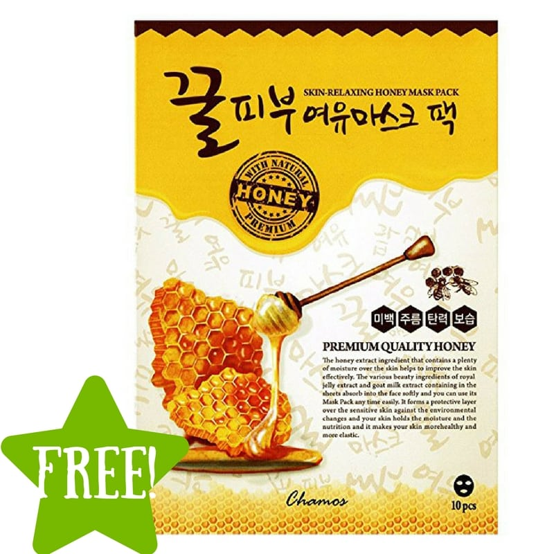 FREE Chamos Honey Face Mask Sheets