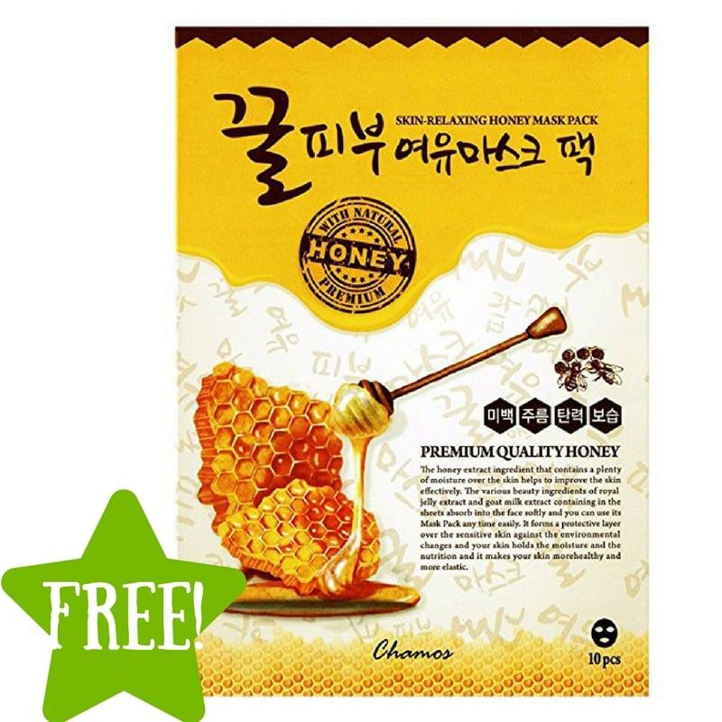 FREE Chamos Honey Face Mask Sheets