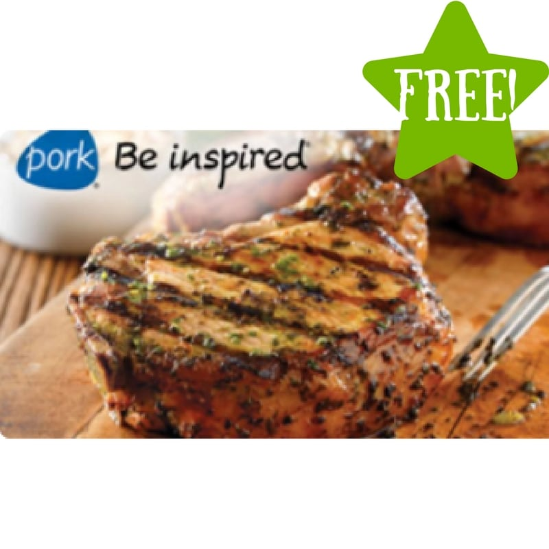 FREE Pork Be Inspired Recipe Booklets