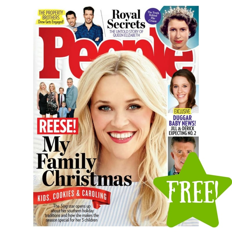 FREE People Magazine Subscription